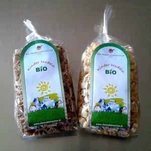 Bio Kinder Nudeln mit Bauernhof Motiven