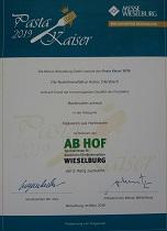 Pasta Kaiser 2019 Silber Bandnudeln schmal