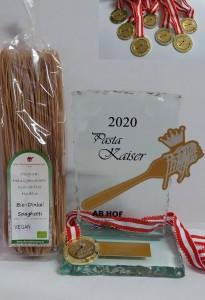 Nudelmanufaktur Huber - Pasta Kaiser 2020 - Messe Wieselburg