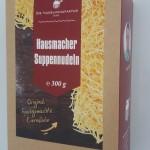 Hausmacher Suppennudeln 300g in Karton Verpackung