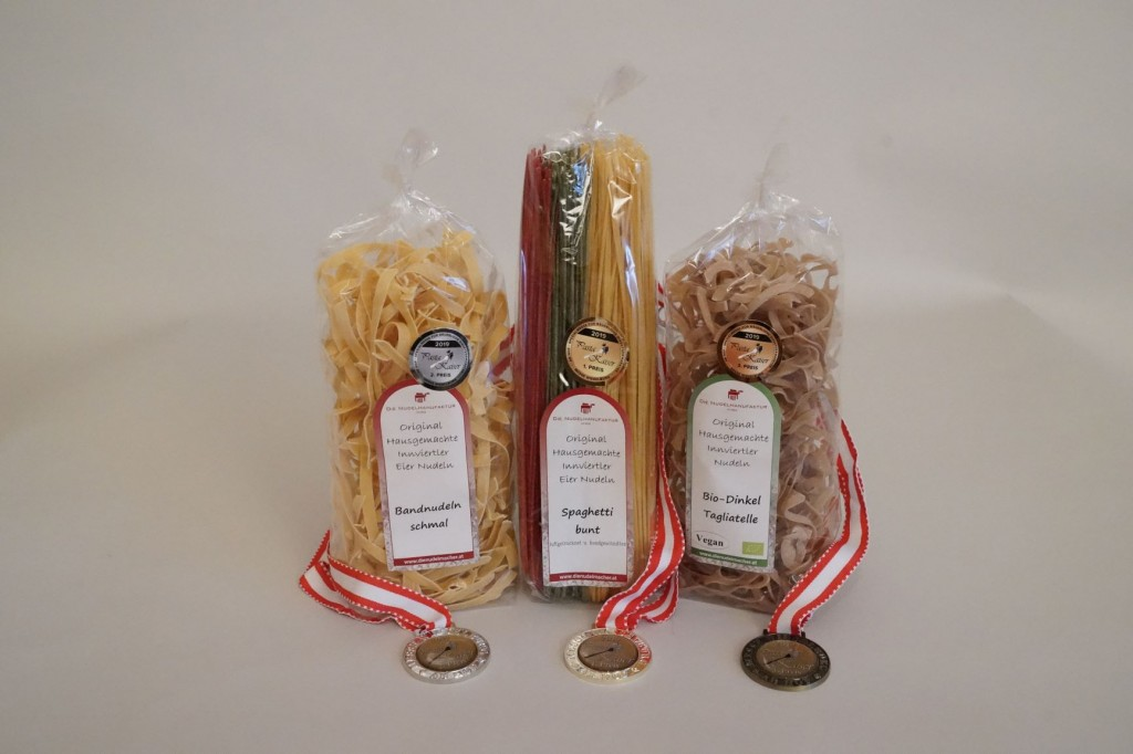 Pasta Kaiser 2019 Gold Silber Bronze
