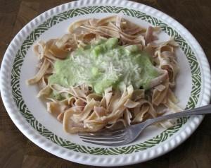 Frischkäse-Sauce mit Brokkoli