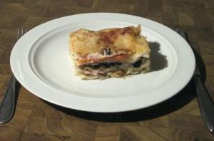 Gemüse Lasagne 1