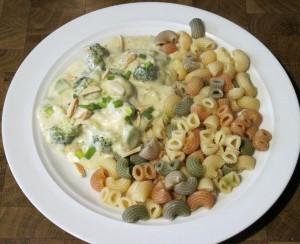 Gorgonzolasauce mit Brokkoli