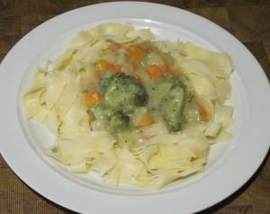 Sahnesauce mit Brokkoli